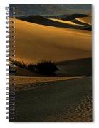 Mesquite Flat Sand Dunes Spiral Notebook