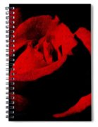 Seduction In Red Spiral Notebook