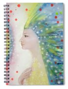 Messenger Of Hope  Spiral Notebook