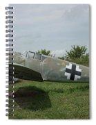 Messerschmitt Bf109 - 2 Spiral Notebook