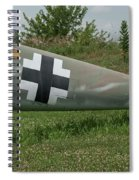 Messerschmitt Bf109 - 3 Spiral Notebook