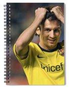 Messi 2 Spiral Notebook