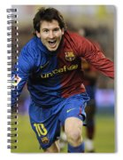 Messi 1 Spiral Notebook