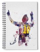Messi Spiral Notebook