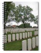 Messines Ridge British Cemetery Spiral Notebook