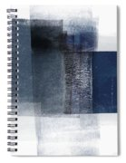 Mestro 2- Abstract Art By Linda Woods Spiral Notebook