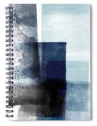 Mestro 4- Abstract Art By Linda Woods Spiral Notebook