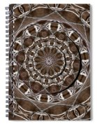 Metal Art Spiral Notebook