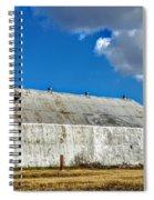 Metal Barn Spiral Notebook