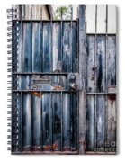 Metal Gates Spiral Notebook