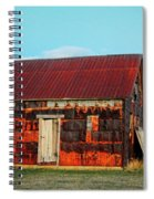 Metal House Spiral Notebook