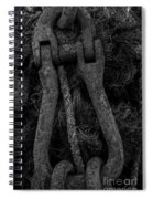 Metal Links Spiral Notebook