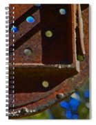 Metal Mobile Spiral Notebook