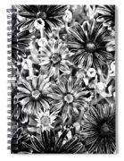 Metal Petals Spiral Notebook