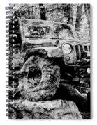 Metallic Jeep Jku Wrangler Spiral Notebook