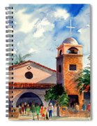 Methodist Church  Gilbert Az Spiral Notebook