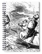 Metius Aggravating Titus Manlius Spiral Notebook