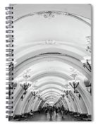 Metro Arbatskaya Spiral Notebook