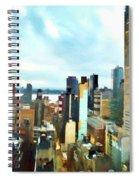 Metro Skyline Spiral Notebook