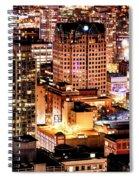 Metropolis Vancouver Mdccxv  Spiral Notebook