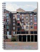 Metropolitan Wharf Spiral Notebook