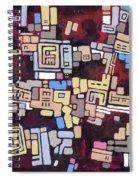 Mexica Spiral Notebook