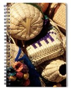 Mexican Baskets Spiral Notebook