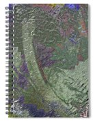Mexican Chandelier Spiral Notebook