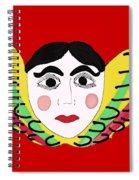 Mexican Cherub Spiral Notebook