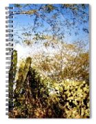 Mexican Country Road Spiral Notebook