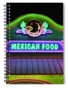 Mexican Food Spiral Notebook