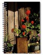 Mexican Geraniums Spiral Notebook