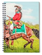 Mexican Horse Soldiers Spiral Notebook