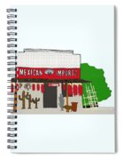 J Chew Mexican Imports Scottsdale Arizona Spiral Notebook