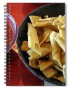 Mexican Inn Chips And Salsa Spiral Notebook