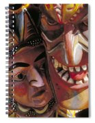Mexican Masks Spiral Notebook