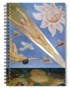 Mexican Mural Painting Spiral Notebook