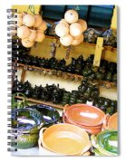 Mexican Pottery Spiral Notebook