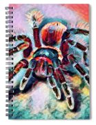 Mexican Red Knee Tarantula Spiral Notebook