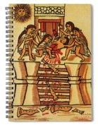 Mexico: Aztec Sacrifice Spiral Notebook