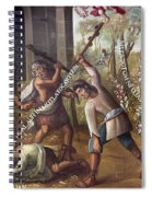 Mexico: Christian Martyrs Spiral Notebook