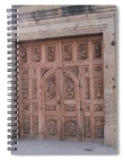 Mexico Door 1 By Tom Ray Spiral Notebook
