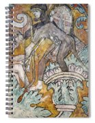 Mexico: Ixmiquilpan Fresco Spiral Notebook
