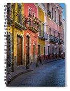 Mexico Street Spiral Notebook