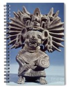 Mexico: Vampire Goddess Spiral Notebook
