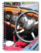 Mg Dashboard Spiral Notebook