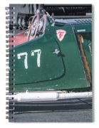 Mg-tc Supercharged Side View Spiral Notebook