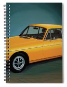 Mgb Gt 1966 Painting  Spiral Notebook
