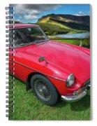 Mgb Gt Spiral Notebook