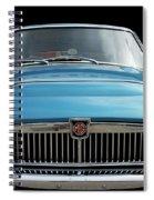 Mgc Classic Car Spiral Notebook